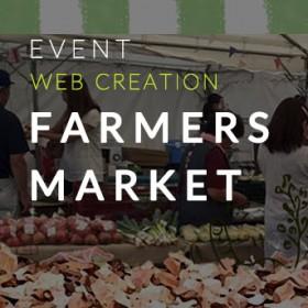 Farmers market nagayama 公式WEBサイト制作